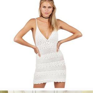 Cleobella crochet mini dress